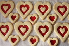 stained glass cookies recipe | This recipe can also be used to make cookie pops! Just place a paper ...