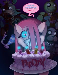 Five Nights with Pinkie Pie, the 2nd Night… even the animatronics are scared
