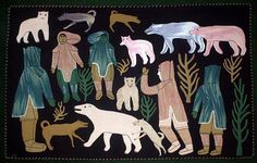 Hunting Polar Bears in the Fall (inuit)  and what would my Bozeman family version of this be?
