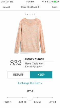 Sooo pretty and perfect price!!!! https://www.stitchfix.com/referral/15872542?som=c&sod=i