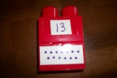 Awesome idea for my 1st grade kiddos that struggle with number recognition and one-to-one correspondense.