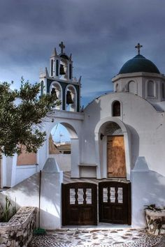 Cherch in Santorini Island of Hellas!