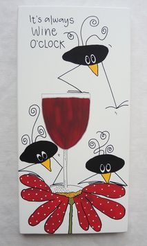 It´s always Wine o´clock Wine O Clock, Oclock, Illustrations, Humor, Words, Funny, Crafts, Painting, Inspiration
