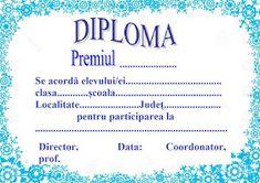 Lumea lui Scolarel...: Diplome de iarnă Diy And Crafts, Master Chef, Education, Bmw, Embroidery, Onderwijs, Learning