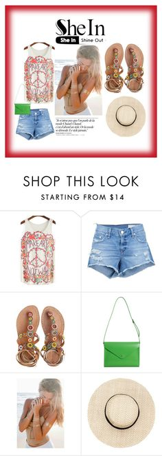 """""""Shine out"""" by daddygwrlgfv on Polyvore featuring moda, rag & bone/JEAN, Laidback London, Paperthinks y Chanel"""