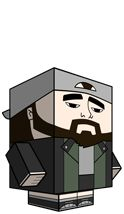 i am totally making a Silent Bob cube art later today to add to our growing office collection