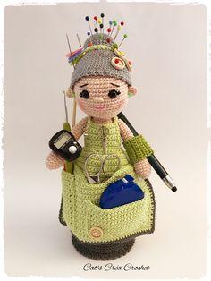 Crafter-Granny, un plaisir à réaliser très utile pour votre couture. https://www.facebook.com/catscreacrochet/