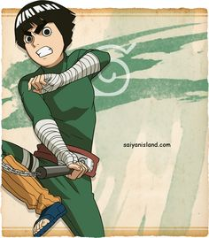 Rock Lee || And it's November 27th so Happy Birthday My favorite Naruto Character - Handsome Devil of the Leaf Village!