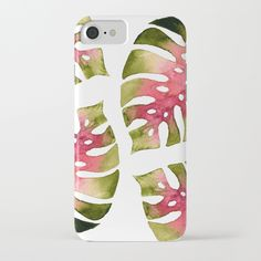 Tropical Leaf Monstera khaki-rose iPhone Case by schimoni_art Tropical Leaves, Iphone Cases, Rose, Stuff To Buy, Inspiration, Art, Biblical Inspiration, Art Background, Pink