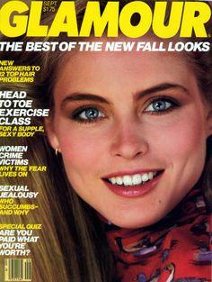 Kim Alexis covers Glamour Magazine (US) September 1981