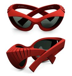 #3Dprinted glasses by PQ Eyewear.  Tyranny of Style.