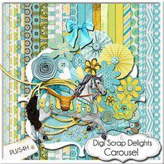 Carousel Kit & Digital Scrapbook Freebie
