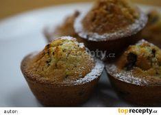 Recept na rychlé muffiny s kousky čokolády - TopRecepty.cz Breakfast, Food, Campaign, Content, Medium, Basket, Morning Coffee, Essen, Meals