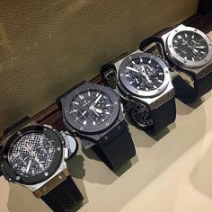Big Bang Line Up . Which one would you pick? Comment below . @moneywatches @hublot via @watchcrowd
