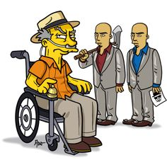 Your Favorite Breaking Bad and Game of Thrones Characters Redrawn as Simpsons | Underwire | Wired.com