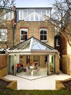 5 Simple and Crazy Tips Can Change Your Life: Contemporary House Exterior modern contemporary study. House Extension Design, Glass Extension, Extension Designs, Extension Ideas, Roof Extension, House Extension Plans, Modern Conservatory, Conservatory Extension, Orangery Extension Kitchen