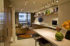 Decoração de apartamentos pequenos - soluções criativas