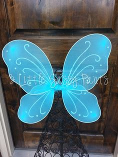 Blue Butterfly Wings- Halloween- Costume- Birthday on Etsy, $7.95