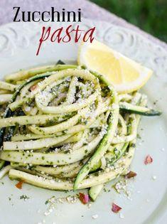 Zucchini Pasta healthy!