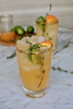 Tangerine Thyme Margarita