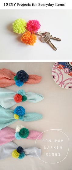 15 DIY Projects for Everyday Items - DIY Ideas 4 Home