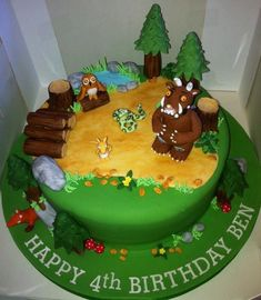 Gruffalo Cake Ideas And Designs cakepins.com