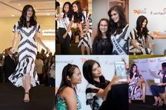 Pia Wurtzbach reaching out to her fans in Dubai in Dragon Mart 2