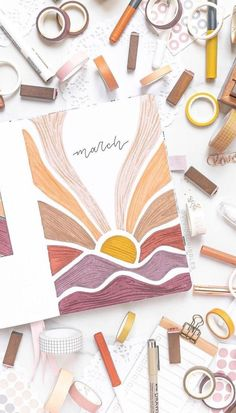 ❤️March Bullet Journal Monthly Cover Ideas that You Have to see today!❤️