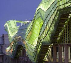 Green Long Docks Paris by Jacob + MacFarlane Architects