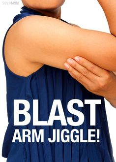 Get your arm flab under control with this arm workout.
