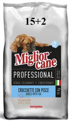 MIGLIORCANE CROCCHETTE PER CANI INTOLLERANTI CON PESCE KG.17 https://www.chiaradecaria.it/it/mangimi-per-cani/12584-migliorcane-crocchette-per-cani-intolleranti-con-pesce-kg17.html