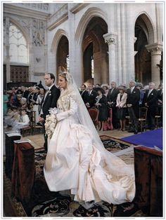 Royal Wedding Gowns Modest Weddings Bridal White