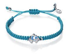 Tuquoise macrame bracelet Viceroy