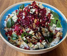 Canapes Recipes, Salad Recipes, Salty Foods, Food Categories, Greek Recipes, Vinaigrette, Cobb Salad, Acai Bowl, Potato Salad
