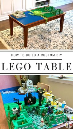 Few toys spark creativity and imagination like LEGOs!  So why should your LEGO table be any different?  Build a truly custom LEGO table for your kids for less than all of those boring prefab ones.  #LEGOtable #DIY #DIYprojects #perfectplayroom #creativeplay