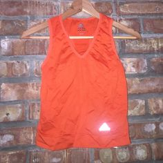 Adidas workout top Orange adidas workout top Adidas Tops Tank Tops