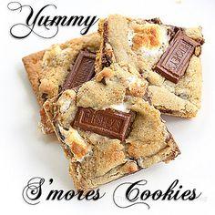 S'mores Cookies full recipe!!!!!!!!!!!!!!!!!!!