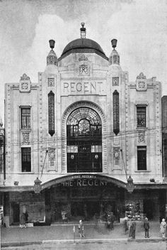 Regent Theatre, Auckland NZ, demolished Heritage et AL Melbourne Victoria, Victoria Australia, Old Pictures, Old Photos, Nz History, Family History, Time In Australia, New Zealand Houses, Auckland New Zealand