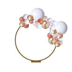 This fancy design your own 2 meter balloon garland can be hung up, suspended or... Balloon Shop, Balloon Arch, Balloon Garland, Tassel Garland, Garlands, Orange Balloons, Orange Party, Backdrop Stand, Backdrops For Parties