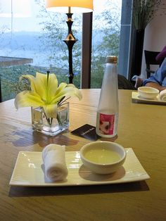 Our welcome drink at The Wen Wan Resort, Sun Moon Lake, Taiwan