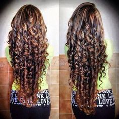 Amazing curly hair