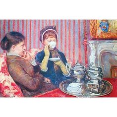 Buyenlarge 'A Cup of Tea #2' by Mary Cassatt Painting Print Size: