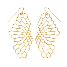 Radiolaria Earrings \ Nervous System