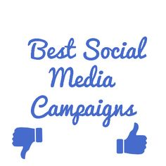 The Best social media campaigns