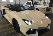 Overkill: Lamborghini Aventador Replica for Sale at $55,000