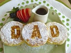 Creative Party Ideas by Cheryl: Fathers Day Breakfast Ideas