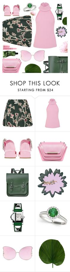 """No jacket required"" by sunnydays4everkh ❤ liked on Polyvore featuring Marni, Brandon Maxwell, Ellia Wang, The Cambridge Satchel Company, Allurez, Matthew Williamson and Aesop"