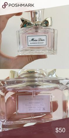Miss Dior perfume Miss Dior Blooming Bouqet, 1oz/30ml. BARELY used! Eau de Toilette. ✨I have many other scents in my closet✨ Dior Makeup