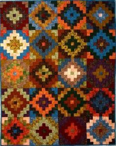 This rug would make a great quilt pattern