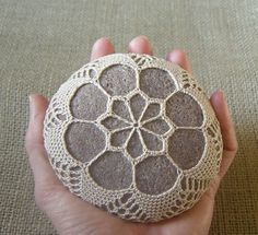crochet rock - I really need to try this!